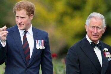 Le prince Harry a prévu une réunion privée avec Charles pour mettre fin à la rangée – mais le père «nerveux»