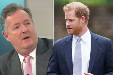 """""""Le prince Harry est à guichets fermés"""" Piers Morgan fustige la décision """"triste et totalement inutile"""" de royal"""