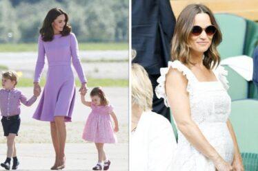 Le style parental de Kate «immaculé» tandis que Pippa «plus pratique» – «un monde de différence»