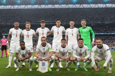 """L'équipe d'Angleterre """"dégoûtée"""" par les abus racistes sur les réseaux sociaux et appelle à """"les punitions les plus sévères"""""""