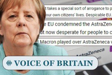 Les Britanniques «Despicable EU» indignés alors que l'Allemagne se démène frénétiquement contre le ralentissement des vaccins