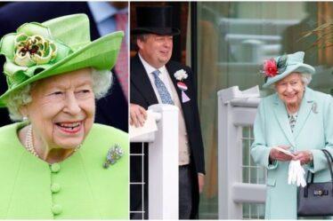 Les broches de la reine d'une valeur de 90 millions de livres sterling selon les experts en joaillerie – «les bijoux les plus incroyables»