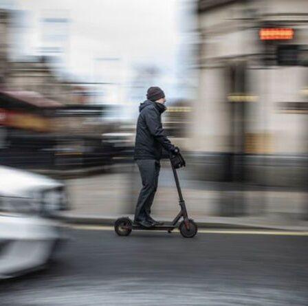 Les conducteurs seront «responsables» des accidents de scooter électrique dans le «plus grand risque» pour les automobilistes britanniques