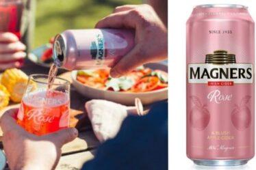 Magners lance un tout nouveau produit de cidre - maintenant disponible chez Tesco
