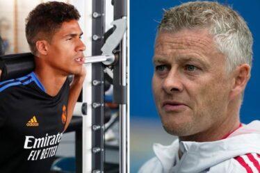 Man Utd a fait une demande tardive effrontée au Real Madrid avant de sceller le transfert de Raphael Varane
