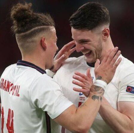 Man Utd exhorté à snober le transfert de Declan Rice et à signer son coéquipier anglais Kalvin Phillips