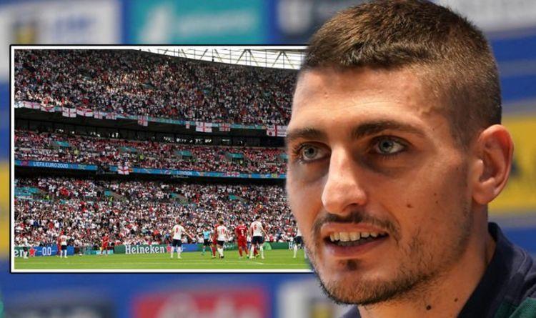 """Marco Verratti rejette Wembley comme un grand avantage de l'Angleterre contre l'Italie - """"Cela nous fera avancer"""""""
