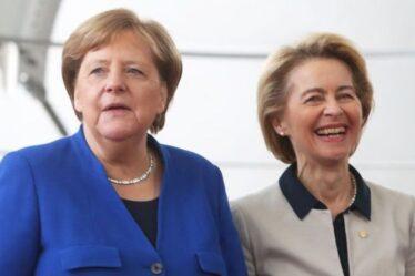 Merkel lâche prise !  L'UE renonce à 1 milliard de livres sterling d'amendes pour l'industrie automobile allemande – un nouveau rapport accablant
