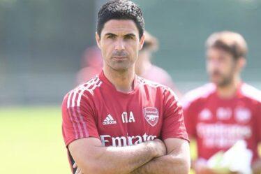 Mikel Arteta distingue trois joueurs d'Arsenal alors qu'il laisse tomber un autre indice de transfert