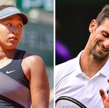 Naomi Osaka remercie Novak Djokovic et Meghan Markle pour leur soutien après le drame de Roland-Garros