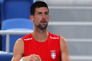 Novak Djokovic a reçu un triple coup de pouce aux Jeux olympiques de Tokyo en vue d'un incroyable Golden Slam