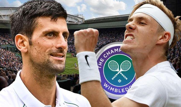 Novak Djokovic vs Denis Shapovalov EN DIRECT: mises à jour du score de Wimbledon depuis le court central