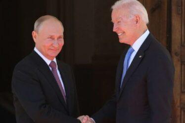"""Poutine tend la main de ses alliés à Biden alors qu'il """"offre des bases russes pour espionner les talibans"""""""