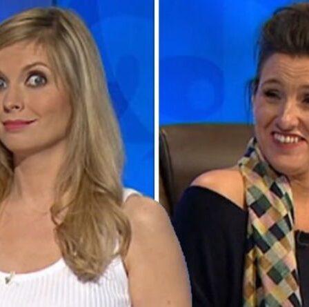 """Rachel Riley a laissé les yeux écarquillés alors que les téléspectateurs du compte à rebours crient """"saleté"""" sur deux mots effrontés"""