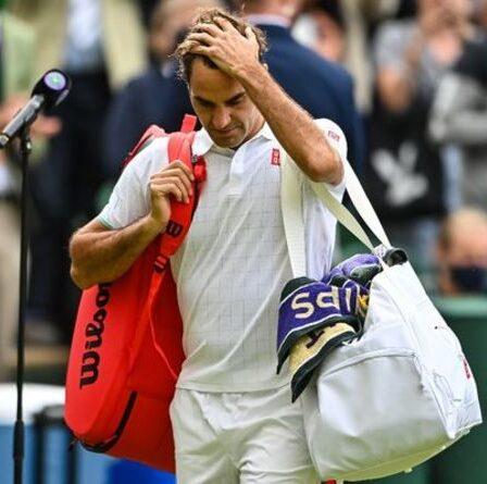 Roger Federer a mis en garde contre l'issue «dangereuse» de l'appel à la retraite après la sortie de Wimbledon