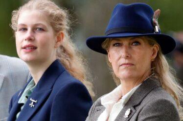 Sophie Wessex et Lady Louise : 5 photos de la comtesse montrant les cordes royales de sa fille