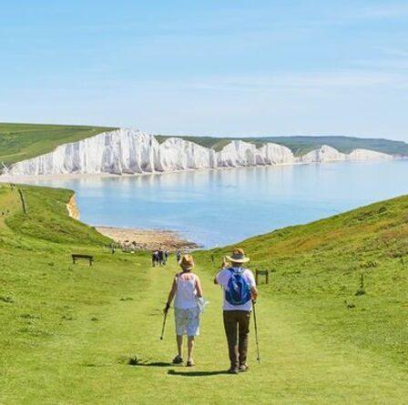 Sussex nommé meilleur lieu de vacances à pied du Royaume-Uni avec les «vues les plus impressionnantes»