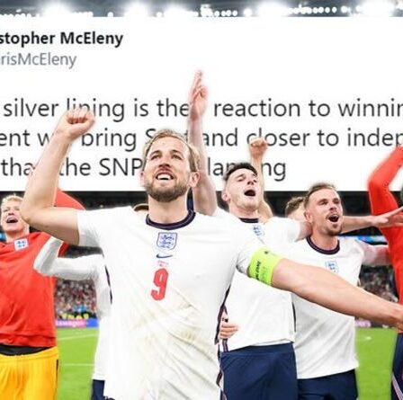 Un conseiller écossais détruit après avoir affirmé que la victoire de l'Angleterre à l'Euro 2020 pourrait BOOSTER l'indépendance