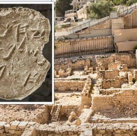 """Une percée archéologique alors que la découverte de Jérusalem """"confirme des chapitres complets"""" de la Bible"""