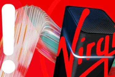 Virgin Media envoie un avertissement à tous les clients et l'ignorer pourrait être coûteux