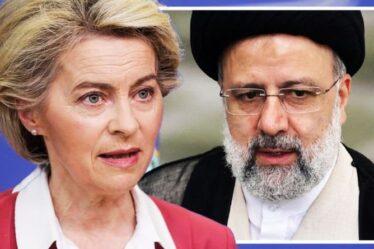"""L'UE """"naïve et embarrassante"""" fustigée pour avoir envoyé un responsable à l'investiture du président iranien"""
