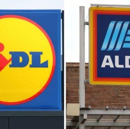 Aldi vs Lidl: le supermarché britannique le moins cher dévoilé – battant son rival de seulement 18p