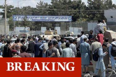 Crise en Afghanistan : les talibans ordonnent aux gens de quitter l'aéroport de Kaboul après le chaos - 12 morts