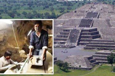 Découverte archéologique: découverte «très importante» faite dans un tunnel sous la pyramide mexicaine