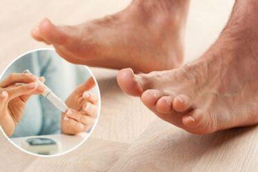 Diabète de type 2: le signe sur vos orteils de dommages «avancés» de la glycémie - avertissement du médecin