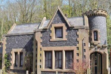 Fans médiévaux se réjouissent : Mini château gothique disponible pour un séjour romantique à Douvres