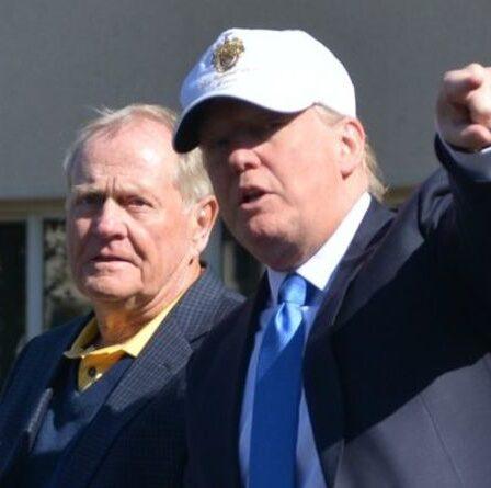 """Jack Nicklaus défend le soutien de Donald Trump : """"Il a fait du très bon travail"""""""