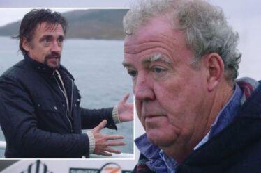"""Jeremy Clarkson sans voix alors que Richard Hammond """"ruine"""" la journée du Grand Tour avec un nouveau passe-temps"""