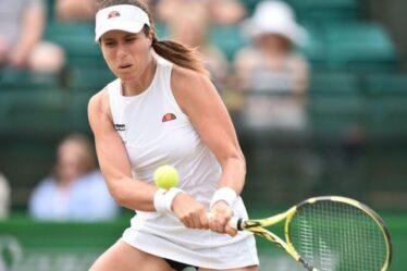 Johanna Konta lève le voile sur l'enfer de Covid après avoir été forcée de quitter Wimbledon et les Jeux olympiques