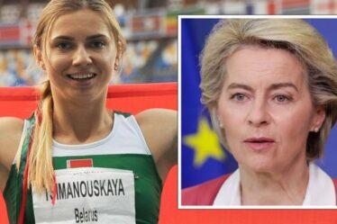 L'UE célèbre l'offre d'asile à Krystsina Tsimanouskay pour aider l'athlète à échapper au régime biélorusse