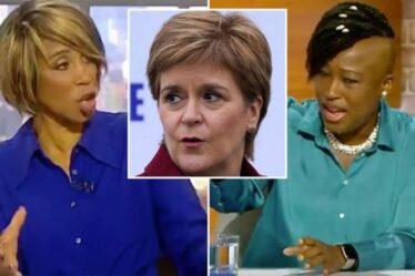 """La défense de l'hôte de brochettes d'invités Vine de la réponse de Sturgeon Covid: """"Elle est une actrice de relations publiques!"""""""