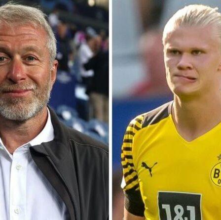 L'agent d'Erling Haaland a «exigé» que Chelsea verse à Erling Haaland un salaire de 820 000 £ par semaine