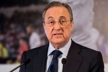 Le président du Real Madrid, Florentino Perez, répète l'astuce de transfert de Sergio Ramos