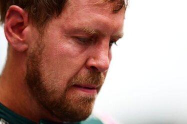 Lewis Hamilton fait face à un revers pour le titre alors qu'Aston Martin fait appel à la pénalité de Sebastian Vettel