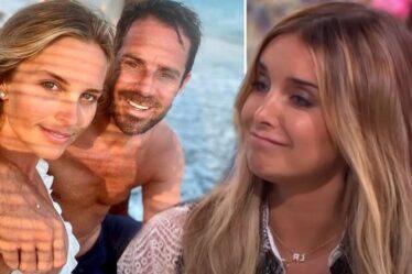 Louise Redknapp « a frappé » alors que l'ex Jamie devient officiel d'Instagram avec sa petite amie enceinte