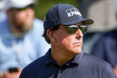 Phil Mickelson fait une admission honnête à la Ryder Cup au milieu des difficultés depuis la victoire du championnat PGA