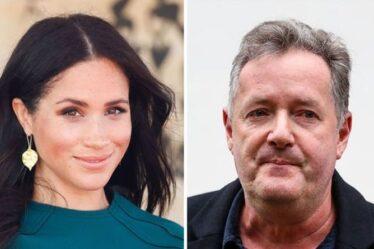 """Piers Morgan s'est moqué de la querelle de Meghan Markle: """"Elle vit dans votre tête sans loyer"""""""