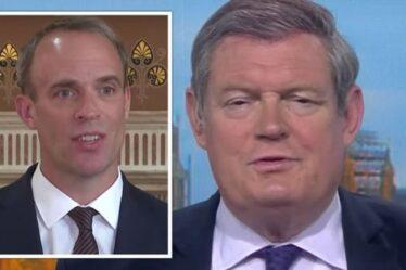 'Pris par surprise ?  Comment?'  L'animateur de Sky News fait irruption à Raab sur des excuses pour la prise de contrôle des talibans