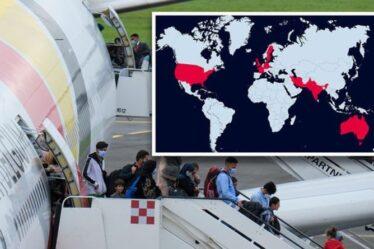 Réfugiés afghans MAPPED: Les pays accueillant des réfugiés - et la position du Royaume-Uni