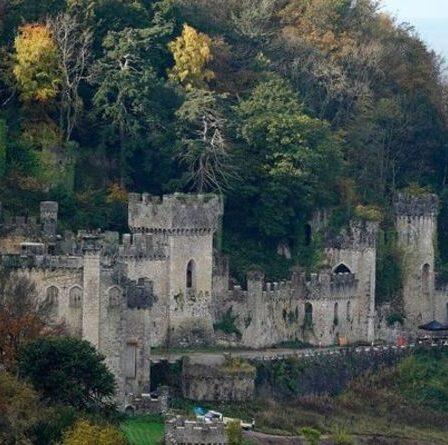 Restez dans ces châteaux comme si j'étais un célèbre gallois Gwrych - sans essais de bushtucker