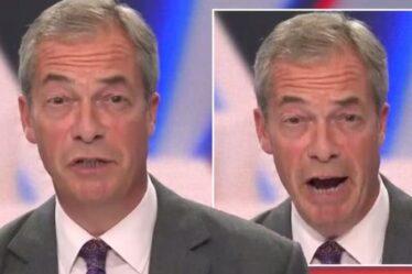 'Réveillé et déconnecté' Farage livre une autre diatribe cinglante de la RNLI sur les passages de migrants