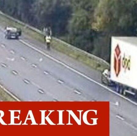 Trafic M5 au plus tard: M5 fermée après un accident entre un camion et deux voitures - de graves retards
