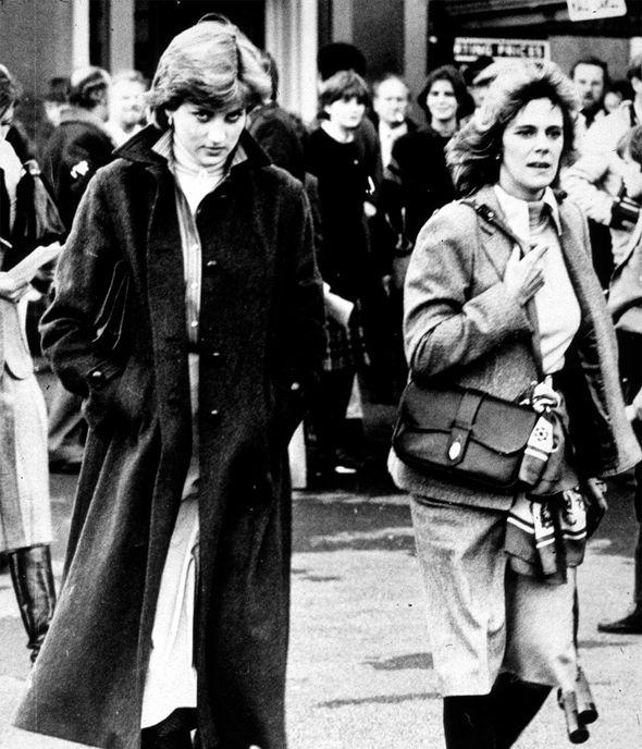 Tensions royales : Diana et Camilla en 1980