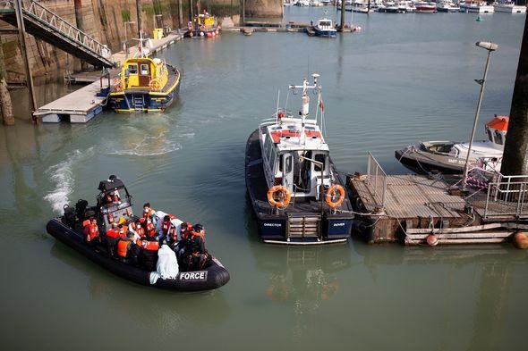 Un nombre record de migrants a traversé la Manche la semaine dernière