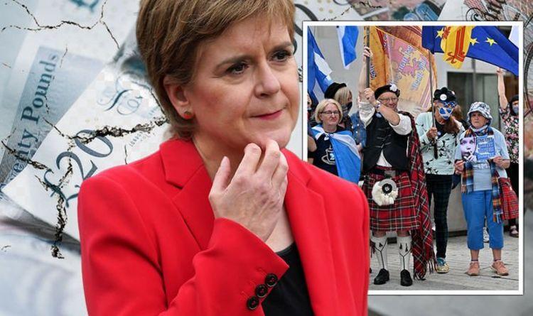 """L'esturgeon écrasé alors que l'indépendance va """"faire sauter un trou instantané de 12 milliards de livres sterling dans le budget écossais"""""""
