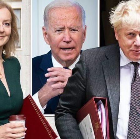 Boris et Truss lanceront une offensive de charme aux États-Unis alors que le Premier ministre s'envole pour New York pour la réunion de Biden